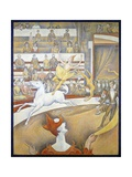The Circus by Georges Seurat Giclee Print by Georges Seurat