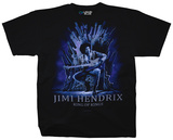 Jimi Hendrix- King Of Kings T-Shirts