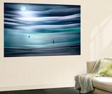 Sailing by Moonlight Wall Mural by Ursula Abresch