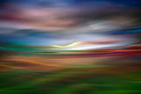 Palouse Evening Abstract Fotografie-Druck von Ursula Abresch