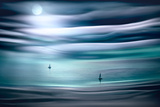 Sailing by Moonlight Fotografisk trykk av Ursula Abresch