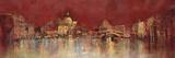 Venice At Night Giclée-tryk af  Kemp