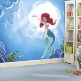 Disney Princess The Little Mermaid Part Of Your World XL Chair Rail Prepasted Mural Wallpaper Mural