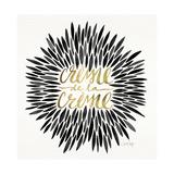 Black-CremeDeLaCreme-artprint Lámina giclée por Cat Coquillette
