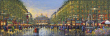 Paris Avenue de l'Opera Giclee Print by Guy Dessapt