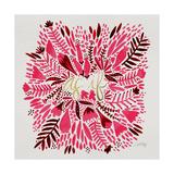 As If - Pink Lámina giclée por Cat Coquillette