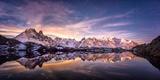 Lac des Cheserys panoramic Reproduction photographique par Philippe Manguin