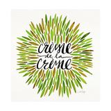 Crème de la Crème in Green Palette Lámina giclée por Cat Coquillette