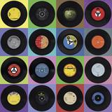 Record Collection Giclée-Druck von Ben James