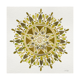 Mandala in Gold Giclee Print by Cat Coquillette