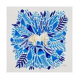As If - Blue Lámina giclée por Cat Coquillette