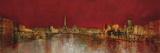 Paris At Night Giclée-tryk af  Kemp