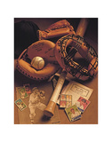 Baseball I Posters af Michael Harrison