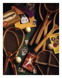 Tennis Plakater af Michael Harrison