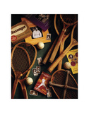 Tennis Posters af Michael Harrison