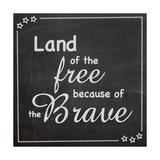 Land of the Free Giclée-Premiumdruck von Lauren Gibbons