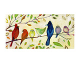 A Flock of Many Colors Affiches par Jennifer Lommers