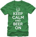 Keep Calm & Beer On Vêtement