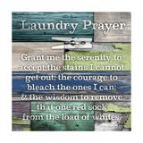 Laundry Prayer プレミアムジクレープリント : ダイアン・スティムソン