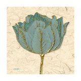 Muted Teal Tulip 1 Prints by Diane Stimson