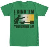I Sink Em You Drink Em T-skjorter