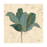 Muted Teal Tulip 2 Prints by Diane Stimson