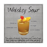 Whiskey Sour Metal Print by Lauren Gibbons