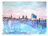 Hamburg Harbour City Elbphilharmonie Pósters por M Bleichner