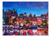 Amsterdamstars2 Poster par M Bleichner
