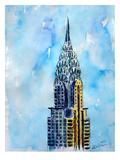 Nyc Chrysler Buildin Solitary View Neu Affiche par M Bleichner