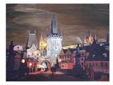 Prague-Charles-Bridge-Karluv-Most Art par M Bleichner