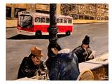 Mkt Street Posters par M Bleichner