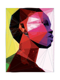 Black Woman 1 Posters by Enrico Varrasso