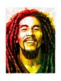 Bob Marley Kunstdruck von Enrico Varrasso
