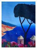 Ravello Amalfi Salerno Wonderful Coast Line 2 Affiches par M Bleichner