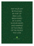 May Your Day Be Touched Poster di Brett Wilson