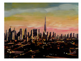 Dubaï Affiches par M Bleichner