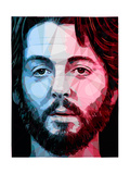 Paul McCartney Poster by Enrico Varrasso