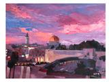 Jérusalem Posters par M Bleichner