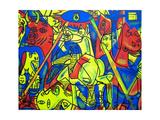 Guernica Gicléetryck av  Abstract Graffiti