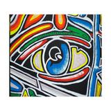 Eye Giclee-trykk av  Abstract Graffiti