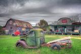 Green and Red Fotografisk trykk av Bob Rouse