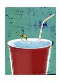 Big Drink Lámina giclée por Anthony Freda