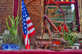 Det amerikanske flagget Fotografisk trykk av Bob Rouse