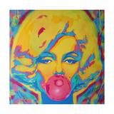 Candy Girl Giclee-trykk av  Abstract Graffiti