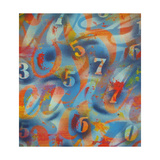 Tall Giclee-trykk av  Abstract Graffiti