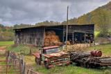 Turkey Creek Farm Fotografisk trykk av Bob Rouse