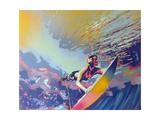 Surf / Windsurf Lámina giclée por  Abstract Graffiti