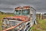 Dairy Truck Fotografisk trykk av Bob Rouse