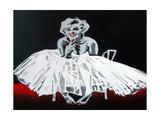 Marilyn Giclee-trykk av  Abstract Graffiti